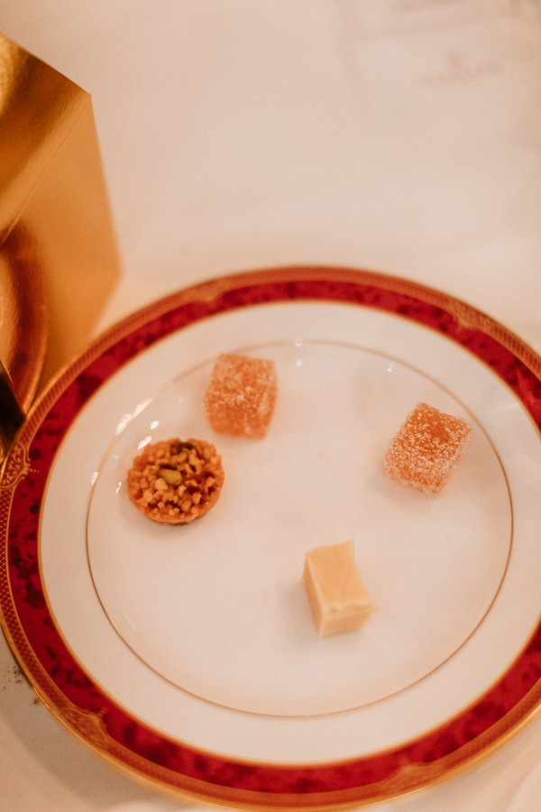 scottish fudge at the 5 star wedding venue glenapp castle