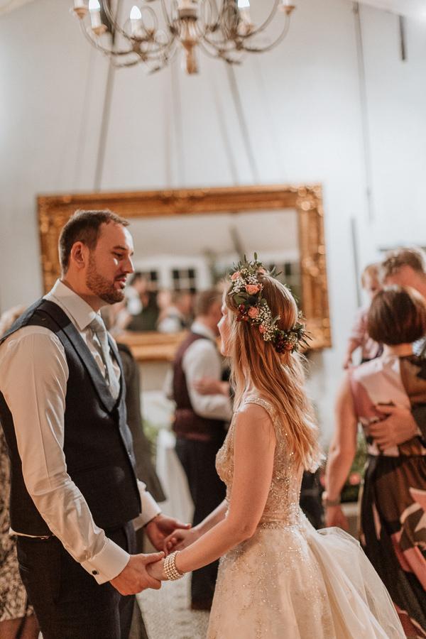 Glenapp Greenhouse wedding recepetion