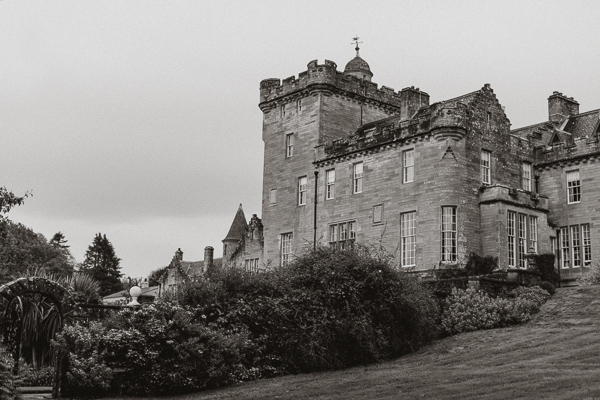 Gleddoch Castle Wedding Photography