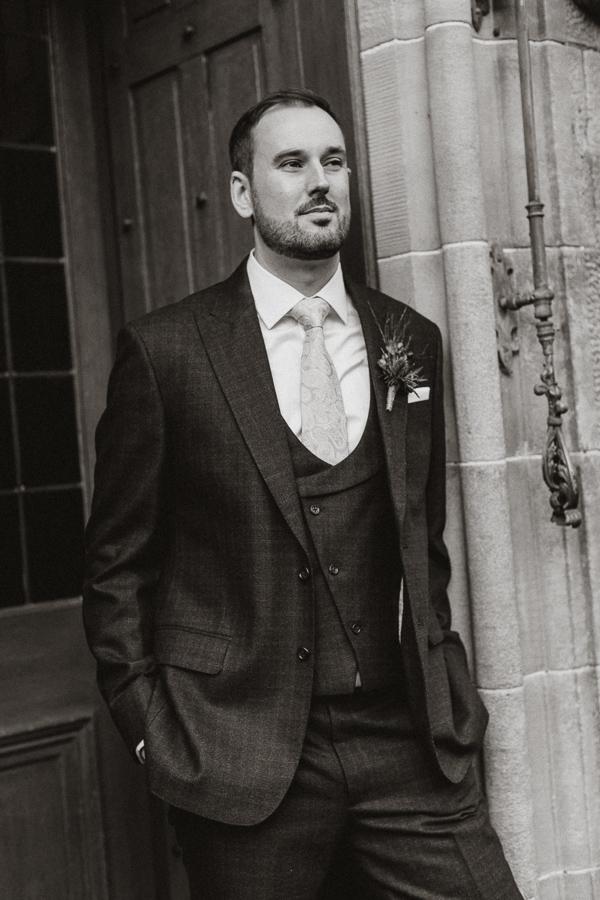 Glenapp Castle Wedding Photos 36
