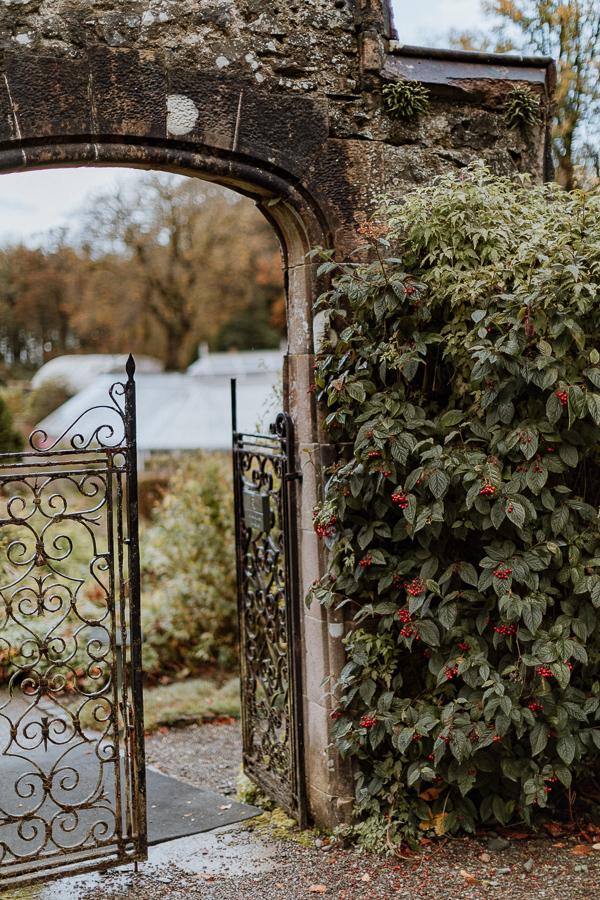 Glenapp Castle Wedding Photos Garden