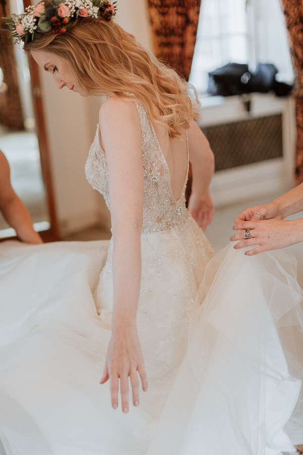 Glenapp Castle Wedding Photos 43