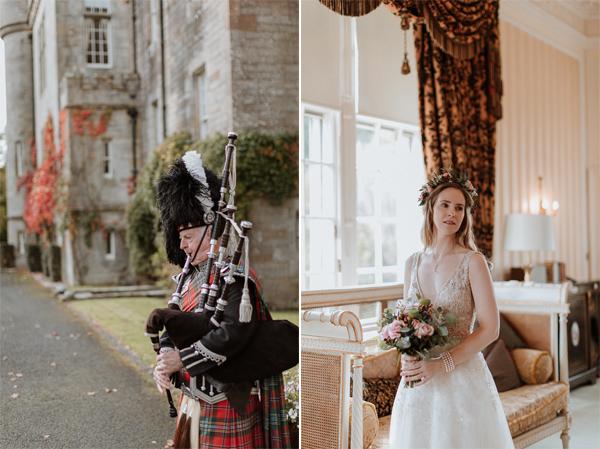 Glenapp Castle Wedding Photos 47a