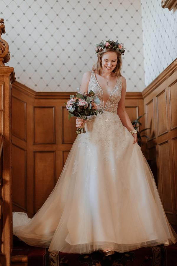 Glenapp Castle Wedding Photos 54