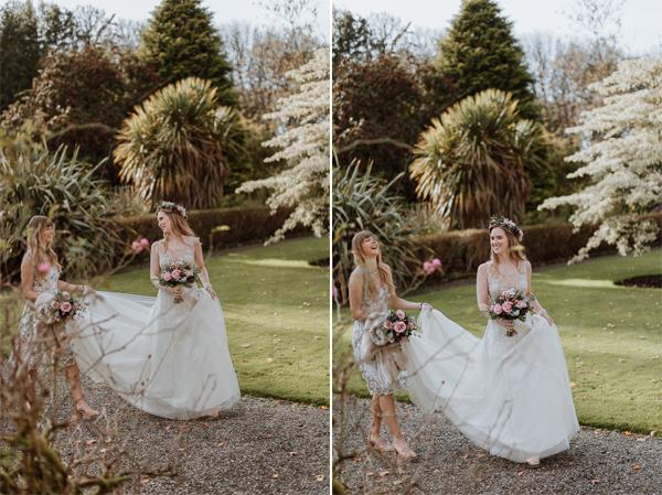 Glenapp Castle Wedding Photos 61a