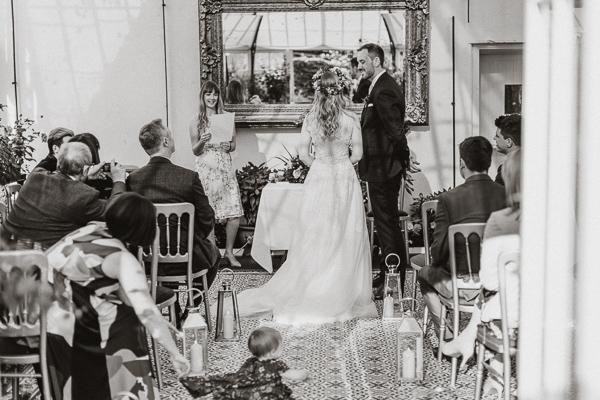 bridesmaid speech at Glenapp Castle Wedding
