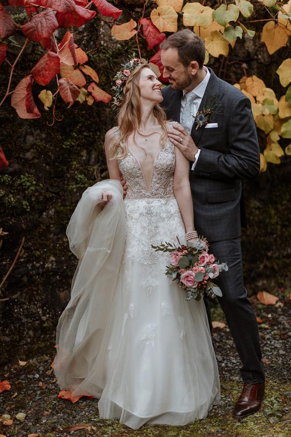 Glenapp Castle Wedding Photos 83