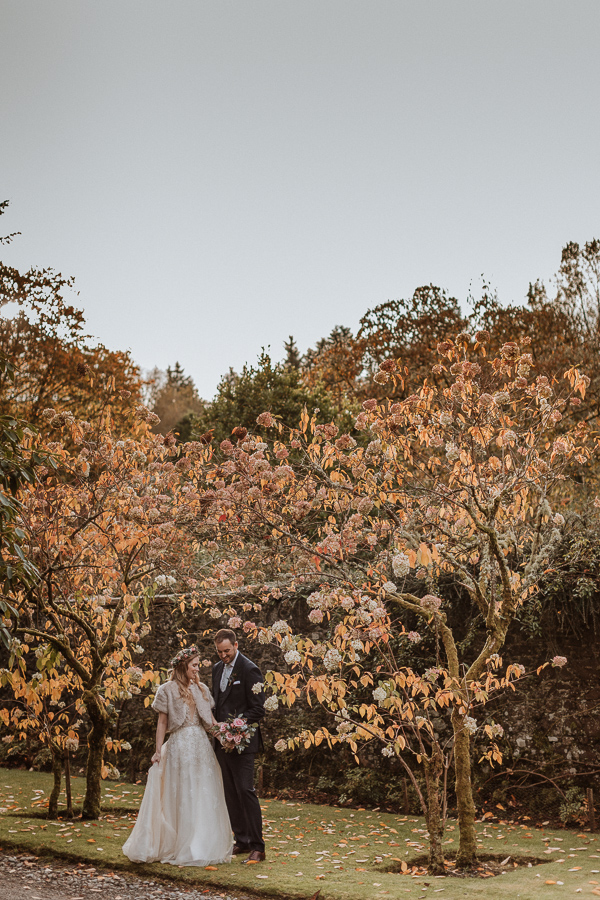 autumk wedding at Glenapp Castle Wedding Photographer Scotland
