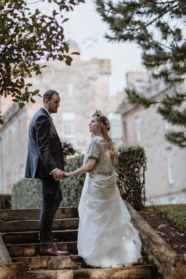 Glenapp Castle Wedding Photos 89