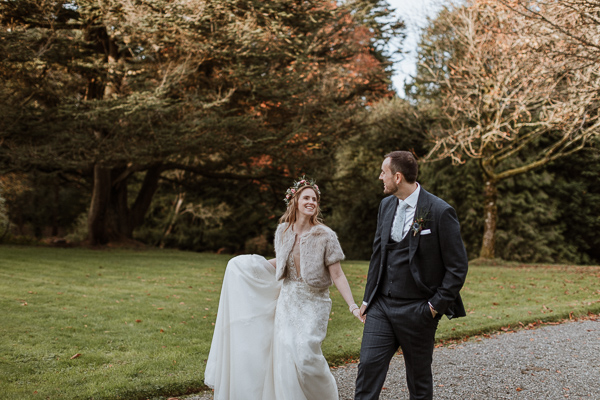 love and marriage at Glenapp Estate Wedding photography