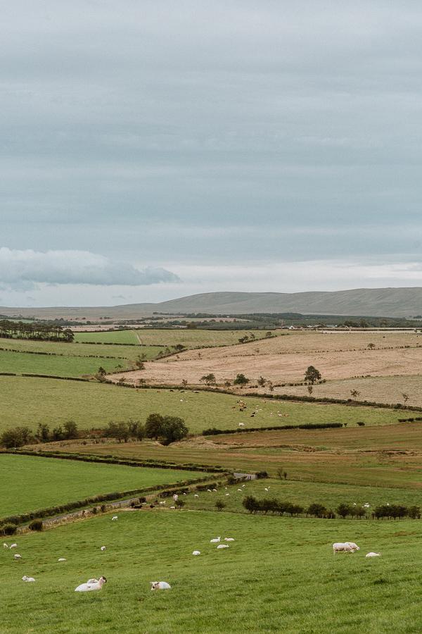 scottish landscape on the way to soarn castle wedding