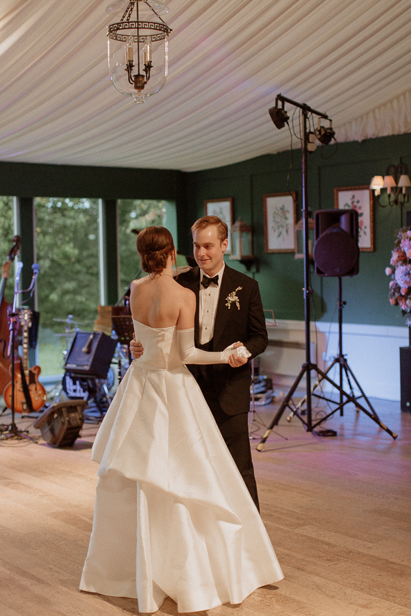 Dumfries House Wedding Photos classical first dance