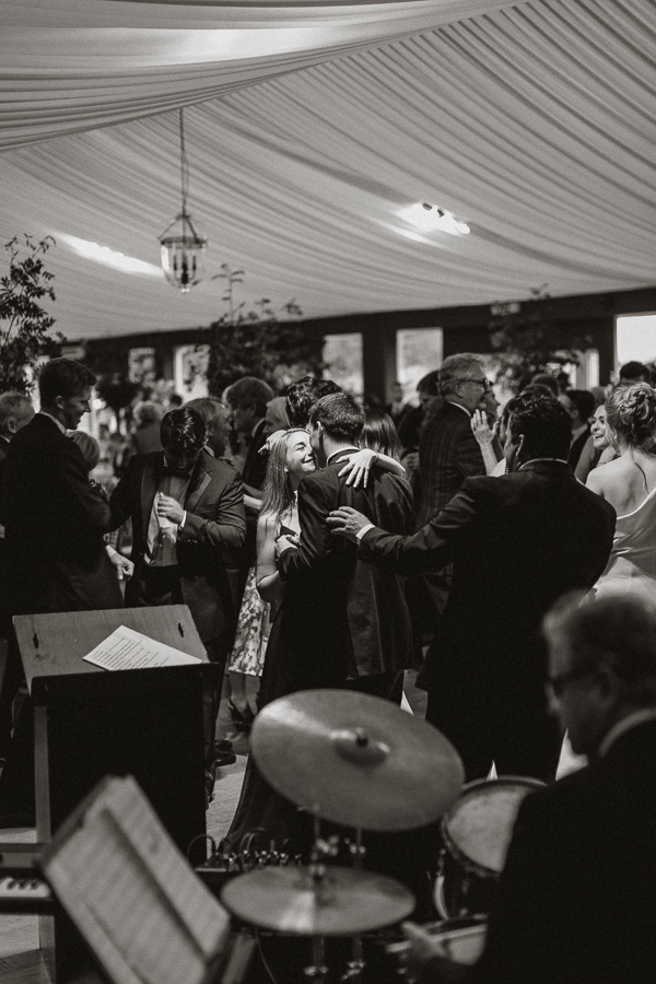 guests dancing at Dumfries House wedding