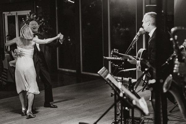 jazz music during elegant wedding at Dumfries House