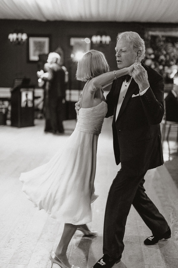 guests dancing on a wedding at Dumfries House