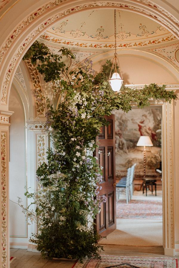 interior of Dumfries House Wedding