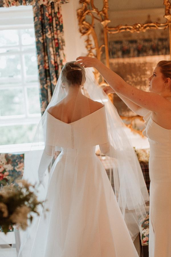 Dumfries House Wedding Photos veil fotogenic of scotland