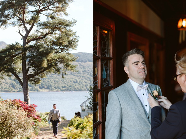 Wedding Photographers Glasgow The Lodge on Loch Goil 24