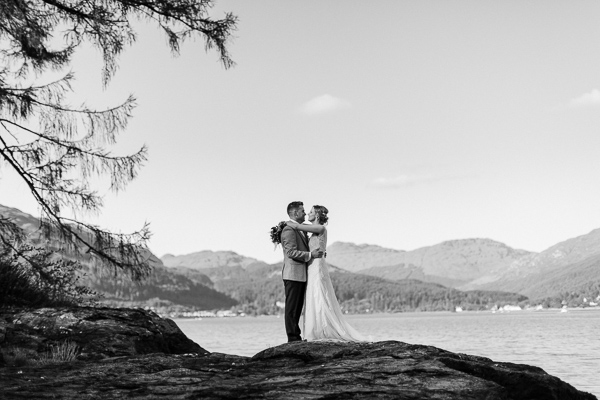 Wedding Photographers Glasgow The Lodge on Loch Goil 62