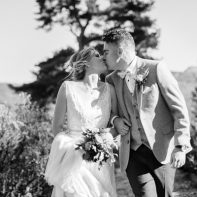 Wedding Photographers Glasgow The Lodge on Loch Goil 68 title