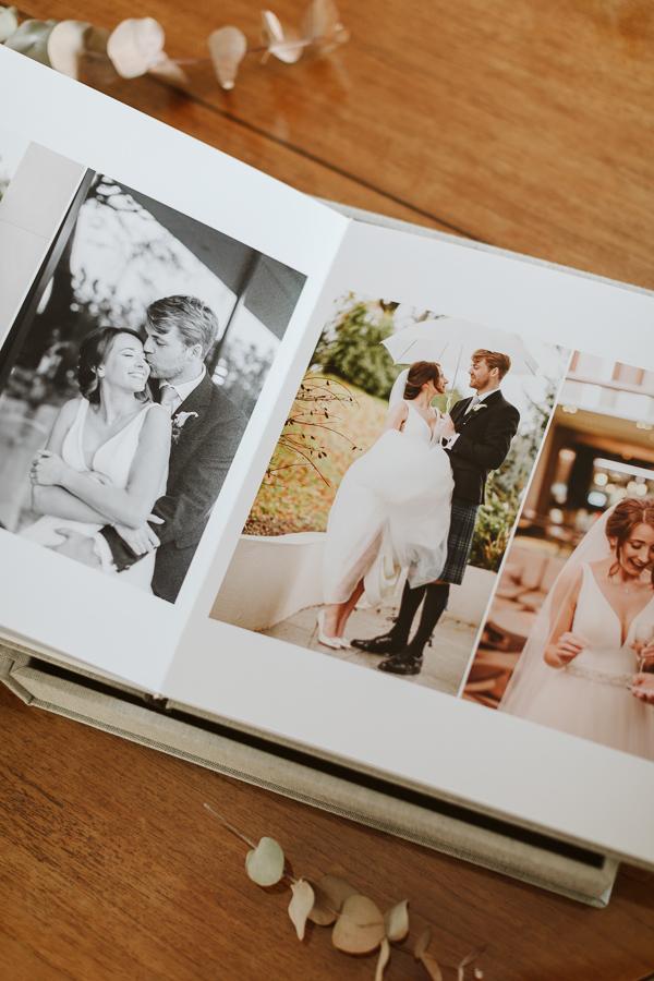 Wedding Photographer Glasgow Albums 15
