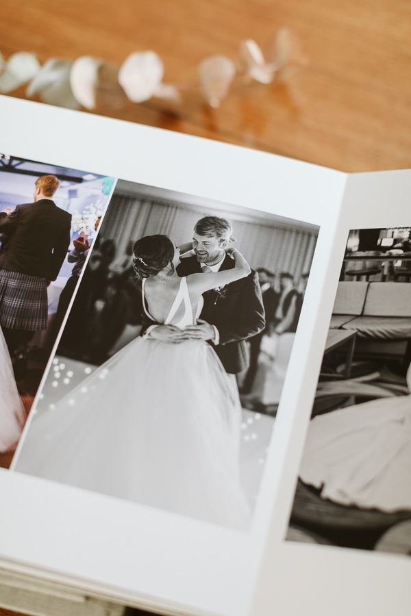 Wedding Photographer Glasgow Albums 16