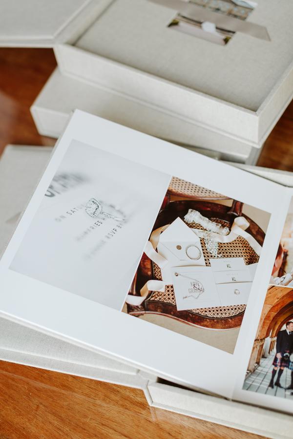 Wedding Photographer Glasgow Albums 21