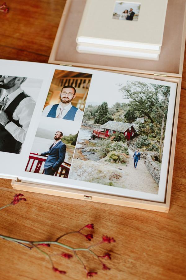 Wedding Photographer Glasgow Albums 29