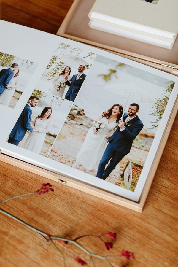 Wedding Photographer Glasgow Albums 30