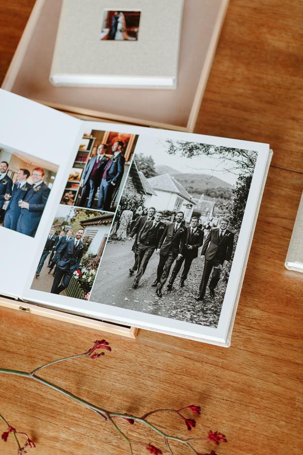 Wedding Photographer Glasgow Albums 36