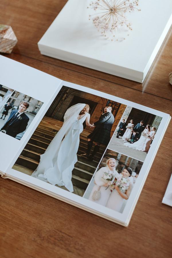 Wedding Photographer Glasgow Albums 65