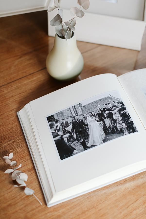 Wedding Photographer Glasgow Albums 7