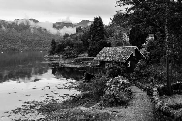 summer house on loch goil